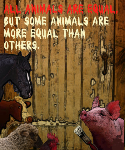 All Animals Are Equal But Some Animals Are More Equal