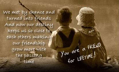 Some Special Quotes About Friendship Cool A Friend For Lifetime  Otrazhenie