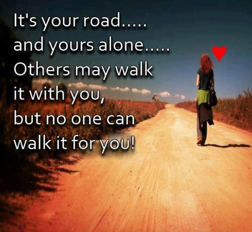 Beautiful Road Motivational Quote October 2017