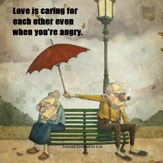 Love angry