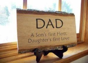 Dad hero love