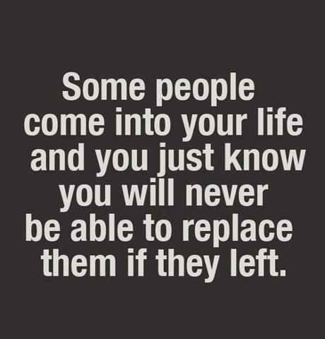People irreplaceable