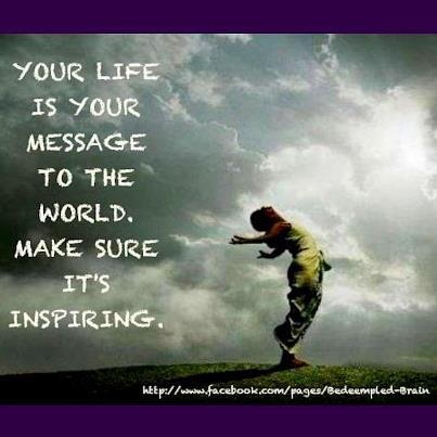 inspiring message