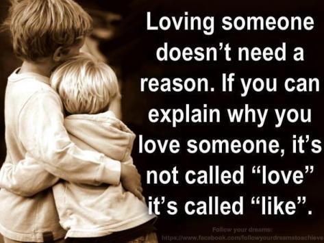 Love reason