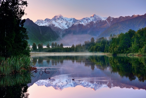new-zealand-mountains-sky-lake-forest-nature