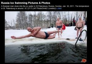 Ice Swim