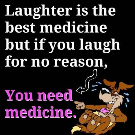 Laughter the best medicine1