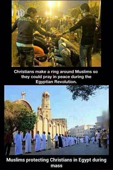 Muslims and Christians