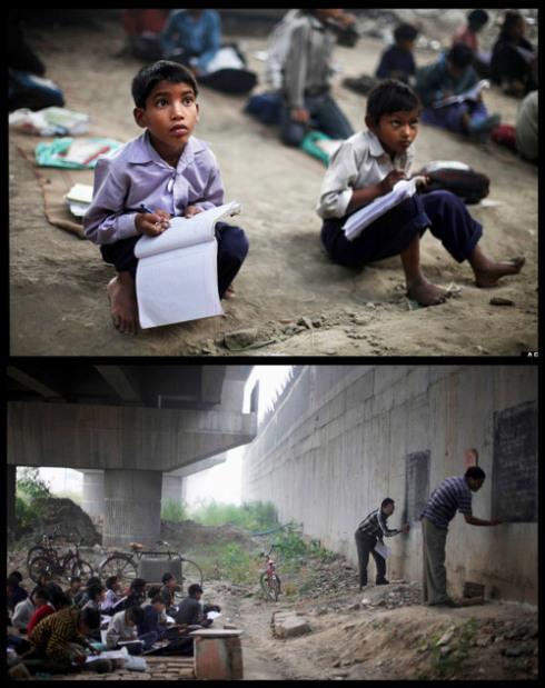 APTOPIX India Free School
