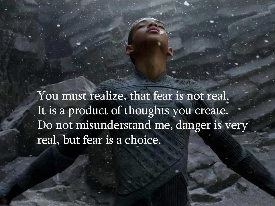 Fear vs danger