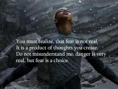 Fear vs danger