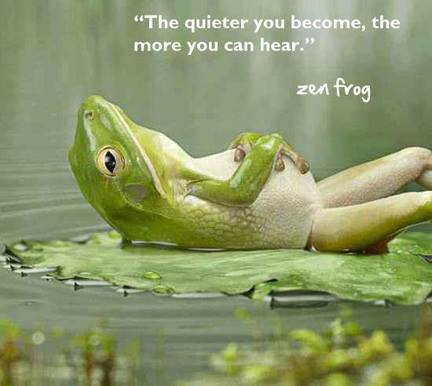 The quieter you become, the more you can hear | Otrazhenie