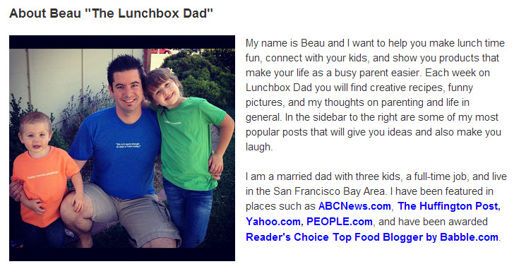 Lunchbox Dad